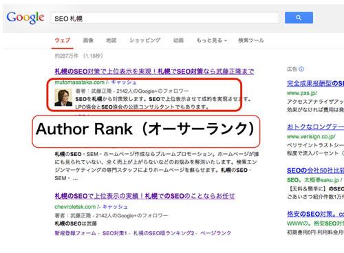 author rank(オーサーランク)